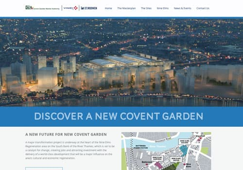 New Covent Garden Market Sites