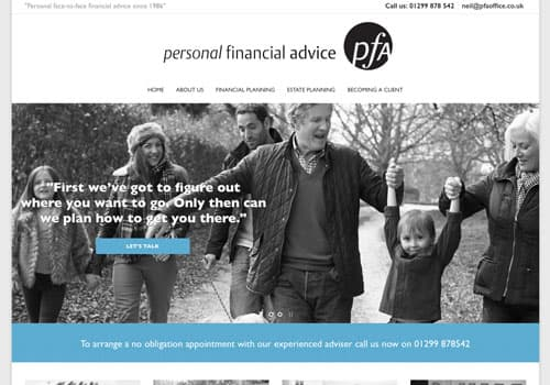 Personal Financial AdvicePersonal Financial Advice